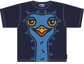 STRUDS NAVY T-SHIRT